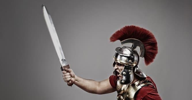 Geschichte Wissensfrage: Wie heißt ein kurzes (etwa 55 cm) römisches Schwert?