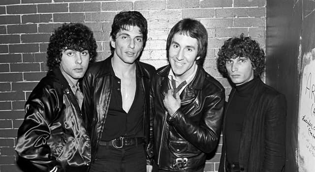 "Cultura Pregunta Trivia: ¿A qué banda pertenece el exitoso tema de power pop ""My Sharona""?"