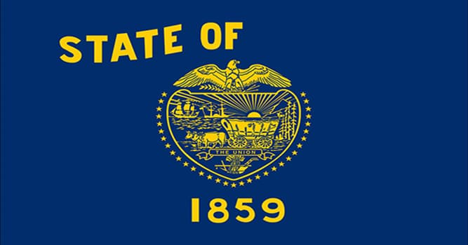 Geografía Pregunta Trivia: ¿A qué estado de Estados Unidos corresponde esta bandera?