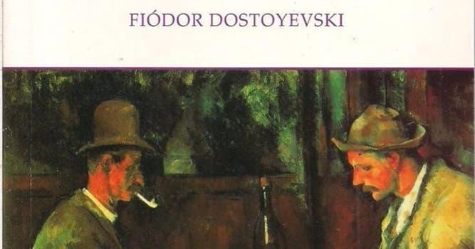 """Cultura Pregunta Trivia: ¿A qué juega """"El jugador"""" en la novela de Dostoievsky?"""