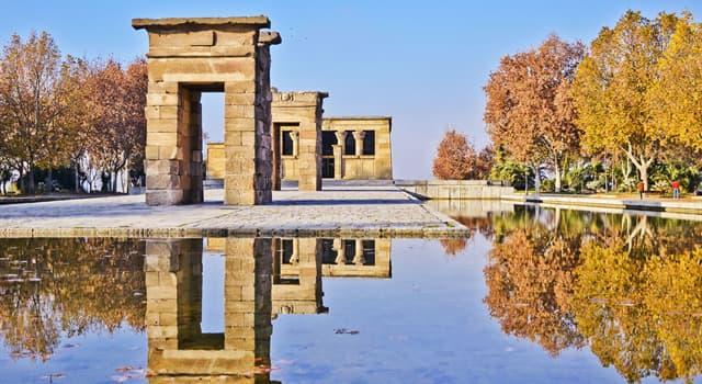 Historia Pregunta Trivia: ¿A qué país le regaló Egipto el Templo de Debod?
