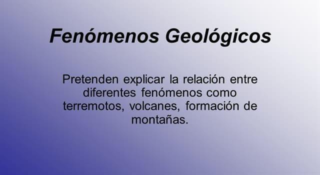 """Naturaleza Pregunta Trivia: ¿A qué se denomina el término """"bufón"""" en geología?"""