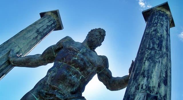 """Geografía Pregunta Trivia: ¿A qué se denominaba antiguamente """"Las columnas de Hércules""""?"""