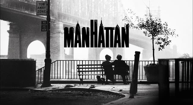 """Películas Pregunta Trivia: ¿A quién pertenece la música con que se inicia la película """"Manhattan"""" de Woody Allen?"""
