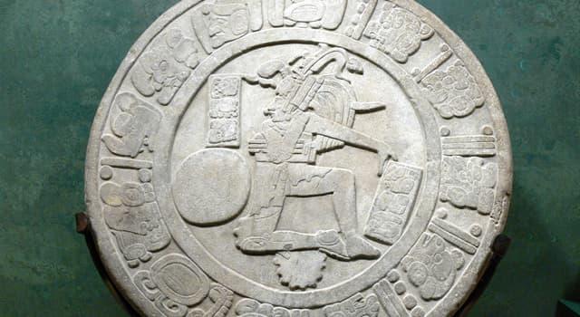 Historia Pregunta Trivia: ¿A qué cultura precolombina pertenece la escultura llamada Disco de Chinkultic?