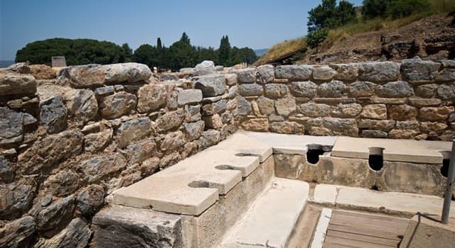 Sociedad Pregunta Trivia: ¿Cómo eran los lavabos públicos de los romanos?