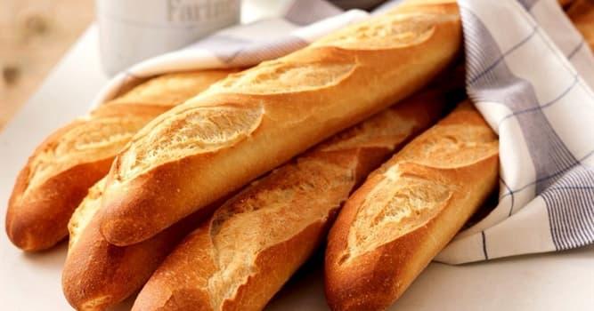Sociedad Pregunta Trivia: ¿Cómo se llama al pan largo, de borde crujiente y suave en su interior como en la imagen?