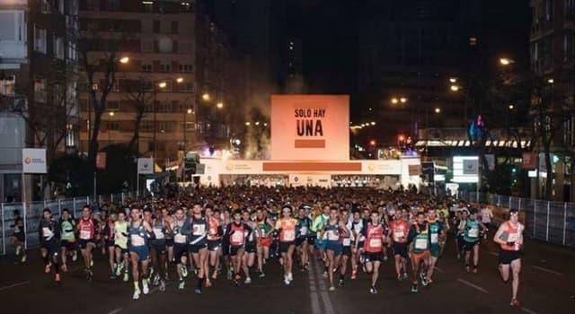 Deporte Pregunta Trivia: ¿Cómo se llama la carrera pedreste que se corre en Brasil a medianoche de fin de año?