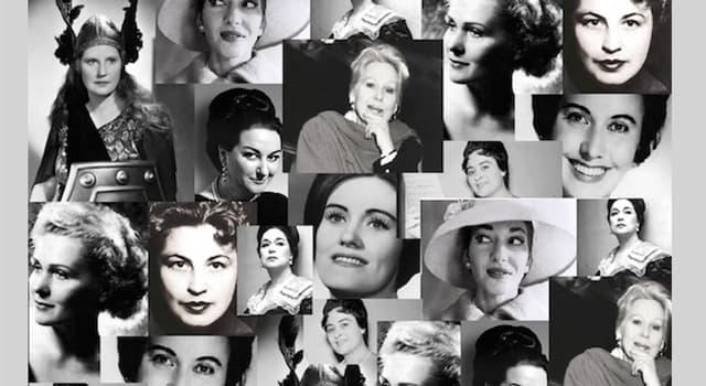 Cultura Pregunta Trivia: ¿Cómo se llamaba la soprano que fue mujer de Onassis?