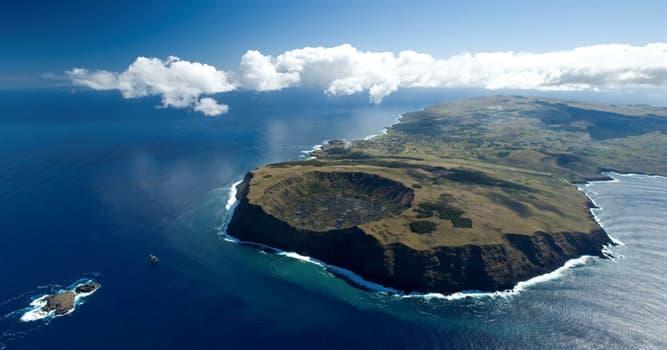 Historia Pregunta Trivia: ¿Cómo y cuándo se formó la Isla Rapa Nui?