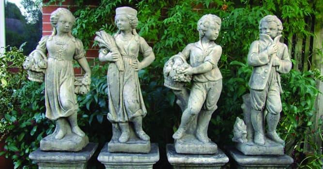 """Cultura Pregunta Trivia: ¿Cuál de estas estatuas fue nombrada originalmente """"El poeta""""?"""