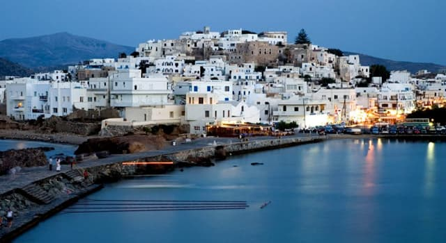 Geografía Pregunta Trivia: ¿Cuál de las siguientes es la mayor isla del Archipiélago de las Cícladas?