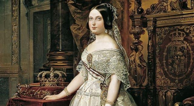 Historia Pregunta Trivia: ¿Cuál de los siguientes hechos sucedió en España durante el reinado de Isabel II?