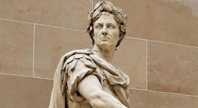 Historia Pregunta Trivia: ¿Cuál era el primer nombre de Julio César?