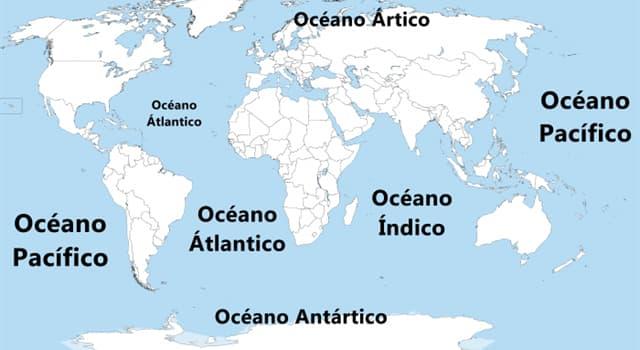 Geografía Pregunta Trivia: ¿Cuál es el océano más pequeño del mundo?