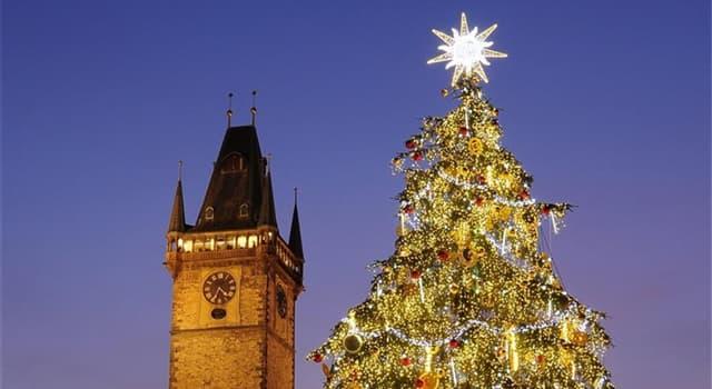 Sociedad Pregunta Trivia: ¿Cuál es el origen del árbol de Navidad?