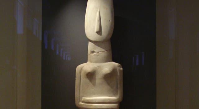 Cultura Pregunta Trivia: ¿Cuál es la altura de la escultura denominada Ídolo de Amorgos?