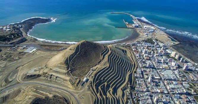 Geografía Pregunta Trivia: ¿Cuál es la ciudad más importante sobre el golfo Argentino de San Jorge?