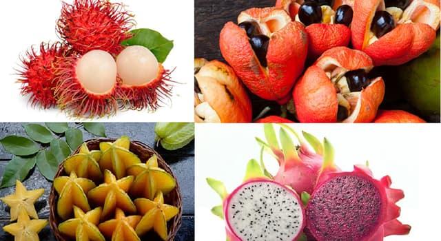 Naturaleza Pregunta Trivia: ¿Cuál es la fruta nacional de Jamaica?