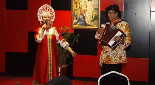 Cultura Pregunta Trivia: ¿Cuál es la traducción de la canción rusa Ochi chórnyie?