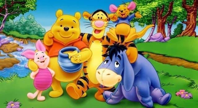 Películas Pregunta Trivia: ¿Cuál sería la característica que representan los personajes de la serie de películas de Winnie the Pooh?