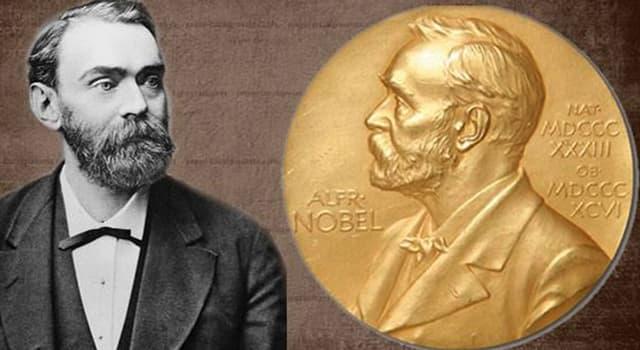Historia Pregunta Trivia: ¿Cuántas categorias creó Alfred Nobel para el Premio Nobel?