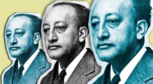 Cultura Pregunta Trivia: ¿Cuántos Premios Nobel ganó Miguel Ángel Asturias?