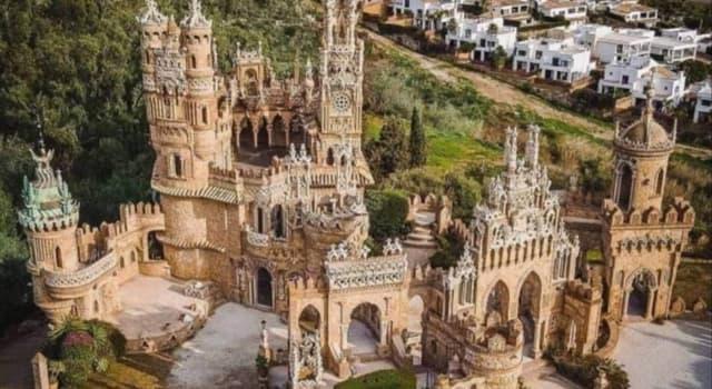 Geografía Pregunta Trivia: ¿Cuantos récord Guinness ostenta el Castillo de Colomares?