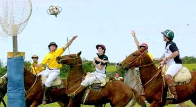 Deporte Pregunta Trivia: ¿De qué país es originario el deporte llamado Pato?