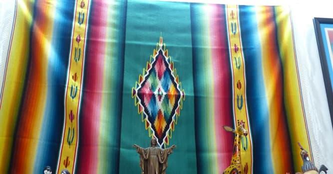 Cultura Pregunta Trivia: ¿De qué parte de México es originario el Sarape?