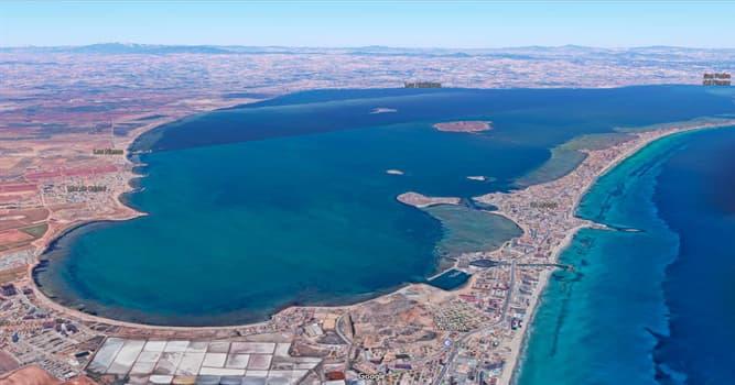 Geografía Pregunta Trivia: ¿Dónde está el Mar Menor?