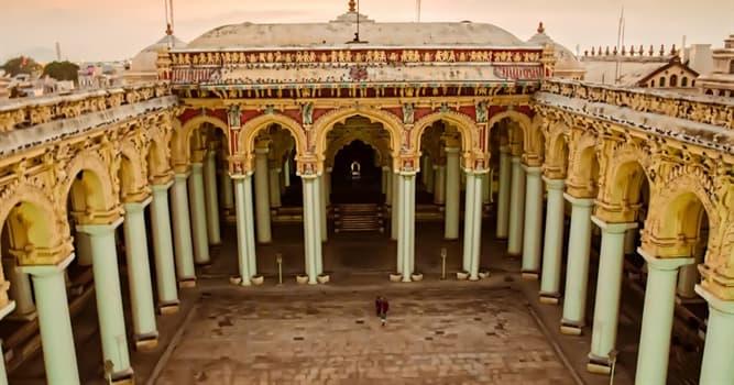 Cultura Pregunta Trivia: ¿Dónde está ubicado el Palacio Thirumalai Nayak Mahal?