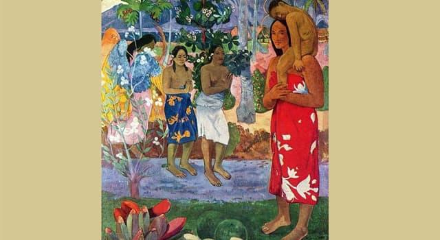 """Cultura Pregunta Trivia: ¿Dónde pintó Gauguin el cuadro """"Ia Orana María""""?"""