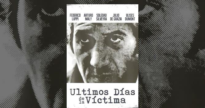 """Películas Pregunta Trivia: ¿En el libro de qué autor está basada la película """"Últimos días de la víctima""""?"""