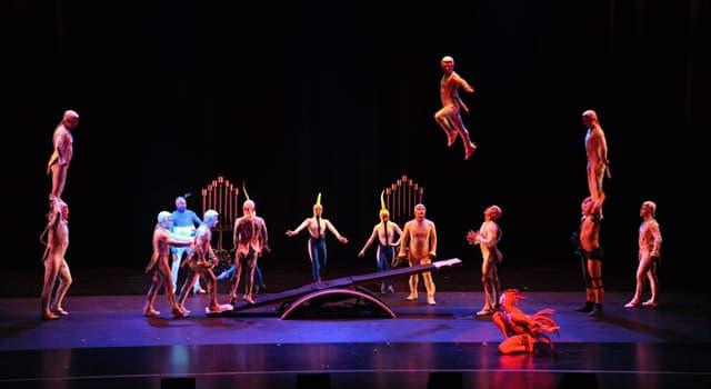 Cultura Pregunta Trivia: ¿En qué cIudad tiene su sede el Cirque du Soleil (Circo del sol)?