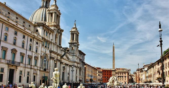 Geografía Pregunta Trivia: ¿En qué ciudad de Italia está ubicada la Piazza Navona o Plaza Navona?