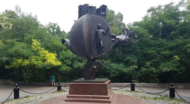 Cultura Pregunta Trivia: ¿En qué ciudad de Ucrania se puede visitar el Monumento a la Naranja?