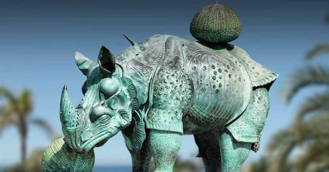"""Cultura Pregunta Trivia: ¿En qué ciudad española se encuentra la escultura de Dalí """"Rinoceronte vestido con puntillas""""?"""
