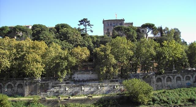 Geografía Pregunta Trivia: ¿En qué ciudad europea se encuentra el monte Aventino?