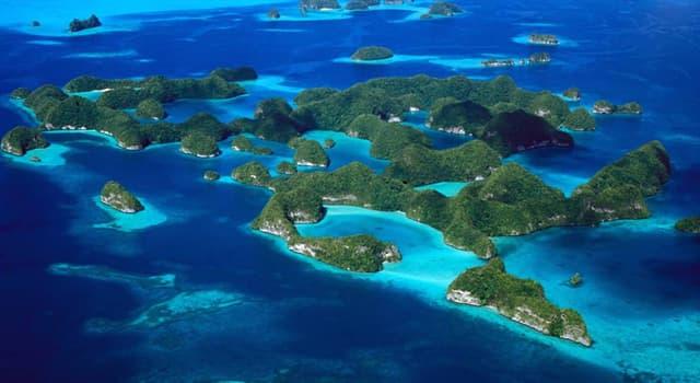 """Geografía Pregunta Trivia: ¿En qué continente se encuentran las """"Islas Chelbacheb""""?"""