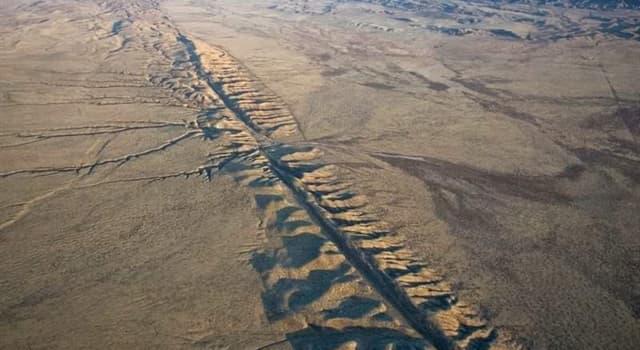 Geografía Pregunta Trivia: ¿En qué golfo termina la falla de San Andrés?
