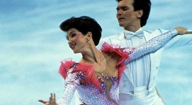 Deporte Pregunta Trivia: ¿En qué Juegos Olímpicos de Invierno se incorporó la danza sobre hielo en las competencias oficiales?