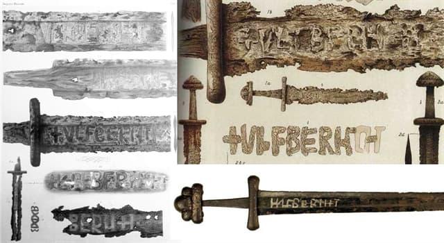 """Historia Pregunta Trivia: ¿En qué lengua estaban las inscripciones en las espadas medievales llamadas """"Ulfberht""""?"""
