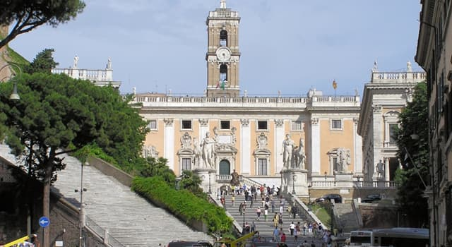 Geografía Pregunta Trivia: ¿En qué lugar de Italia se encuentra la Colina Capitolina?