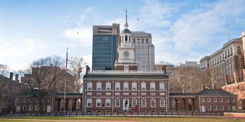 Historia Pregunta Trivia: ¿En qué lugar de los Estados Unidos se encuentra el Independence Hall?