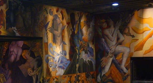 """Cultura Pregunta Trivia: ¿En qué lugar se encuentra el mural llamado """"Memoria visual de una nación"""" del pintor Mario Toral?"""