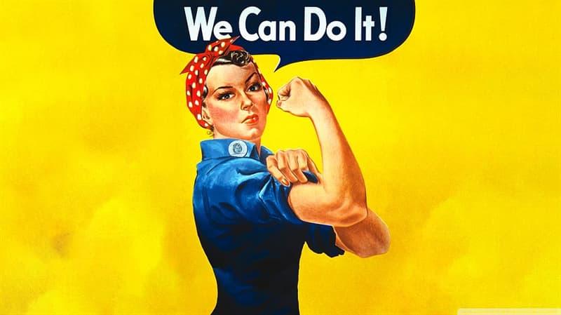 Sociedad Pregunta Trivia: ¿En qué mujer se inspiró el creador de esta icónica imagen, J. Howard Miller?