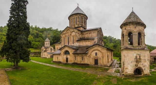 Geografía Pregunta Trivia: ¿En qué país está el Monasterio de Gelati?