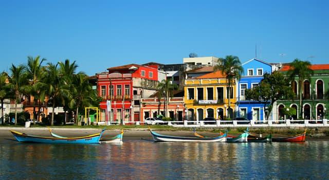 Geografía Pregunta Trivia: ¿En qué país esta la ciudad de Paranaguá?