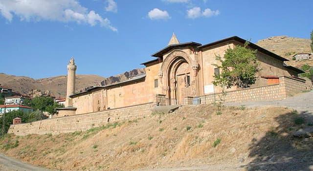 Geografía Pregunta Trivia: ¿En qué país está ubicada la Gran Mezquita y el Complejo (Hospital) de Divriği?